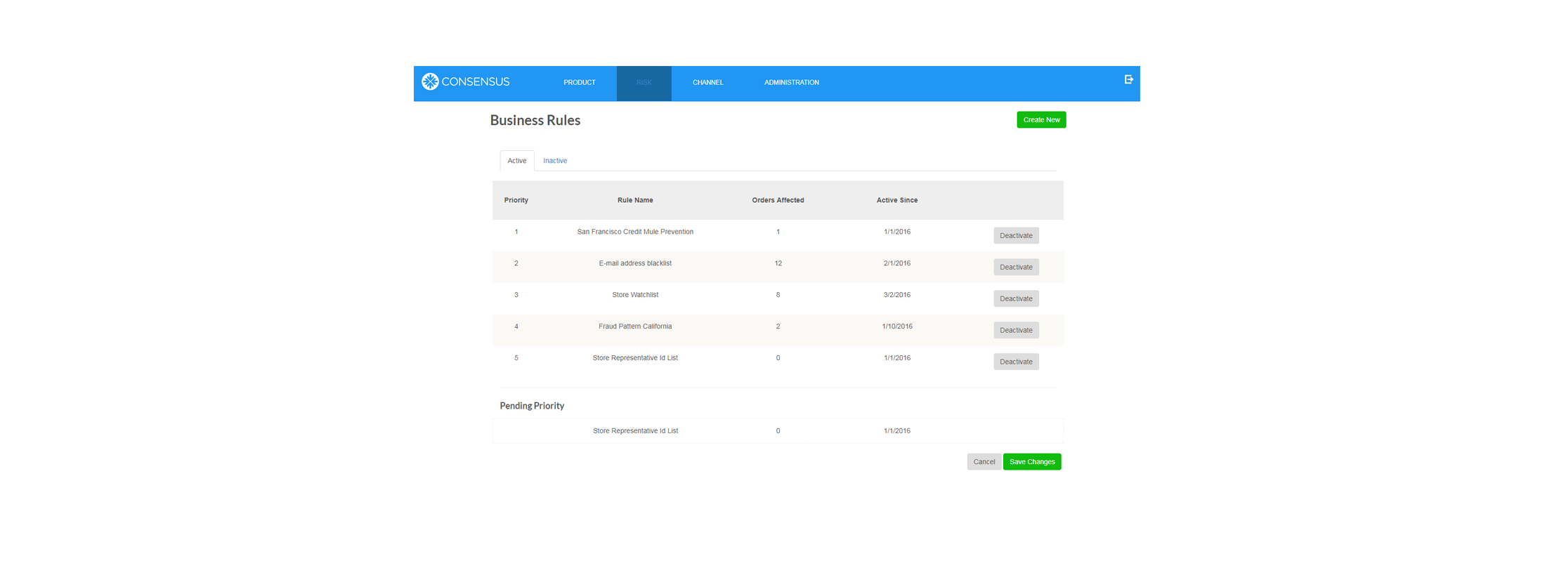 Risk Cloud™ | Lets you manage all your business rules easily
