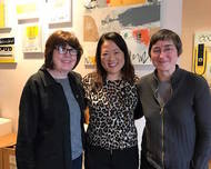 Pictured above Jacqueline Doyle, Grace Hwang Lynch and Monica Nolan