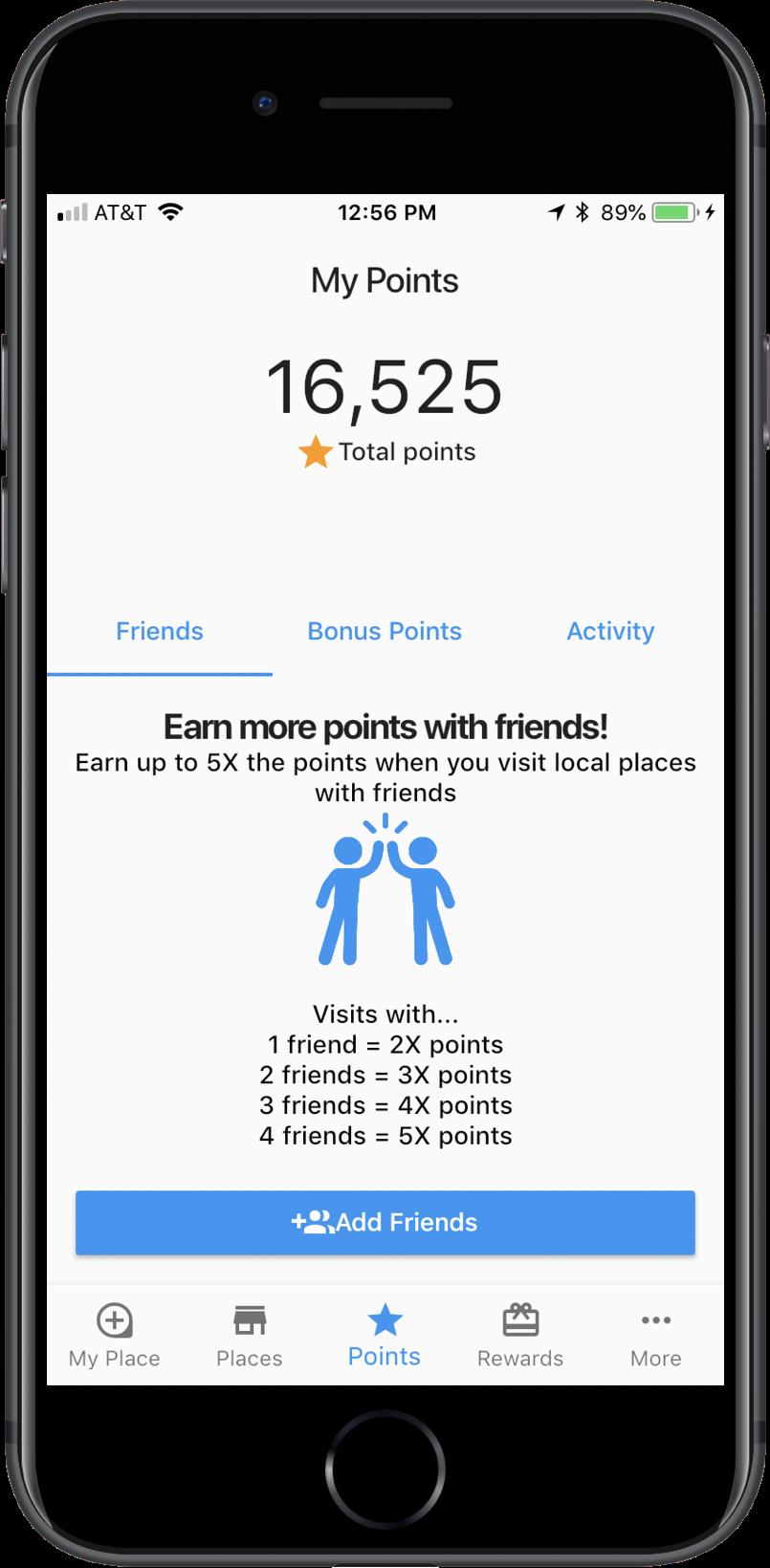 birmingham alabama rewards app pointz