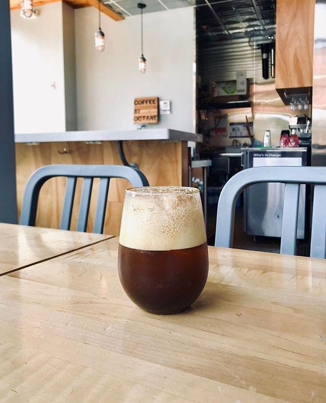 Have you tried a coffee soda? Your favorite fizz combined with coffee 💯 📸 Octane Uptown . . #coffeesoda #coffeelover #caffeineaddict #drinklocal #bham #bhamal #downtownbham #bhamalabama #birmingham #birminghamal #birminghamalabama #instagrambham #bhamgram #bhaminstagram #bhamlocal #bhamcoffee #birminghamcoffee #explorebham #uptownbham