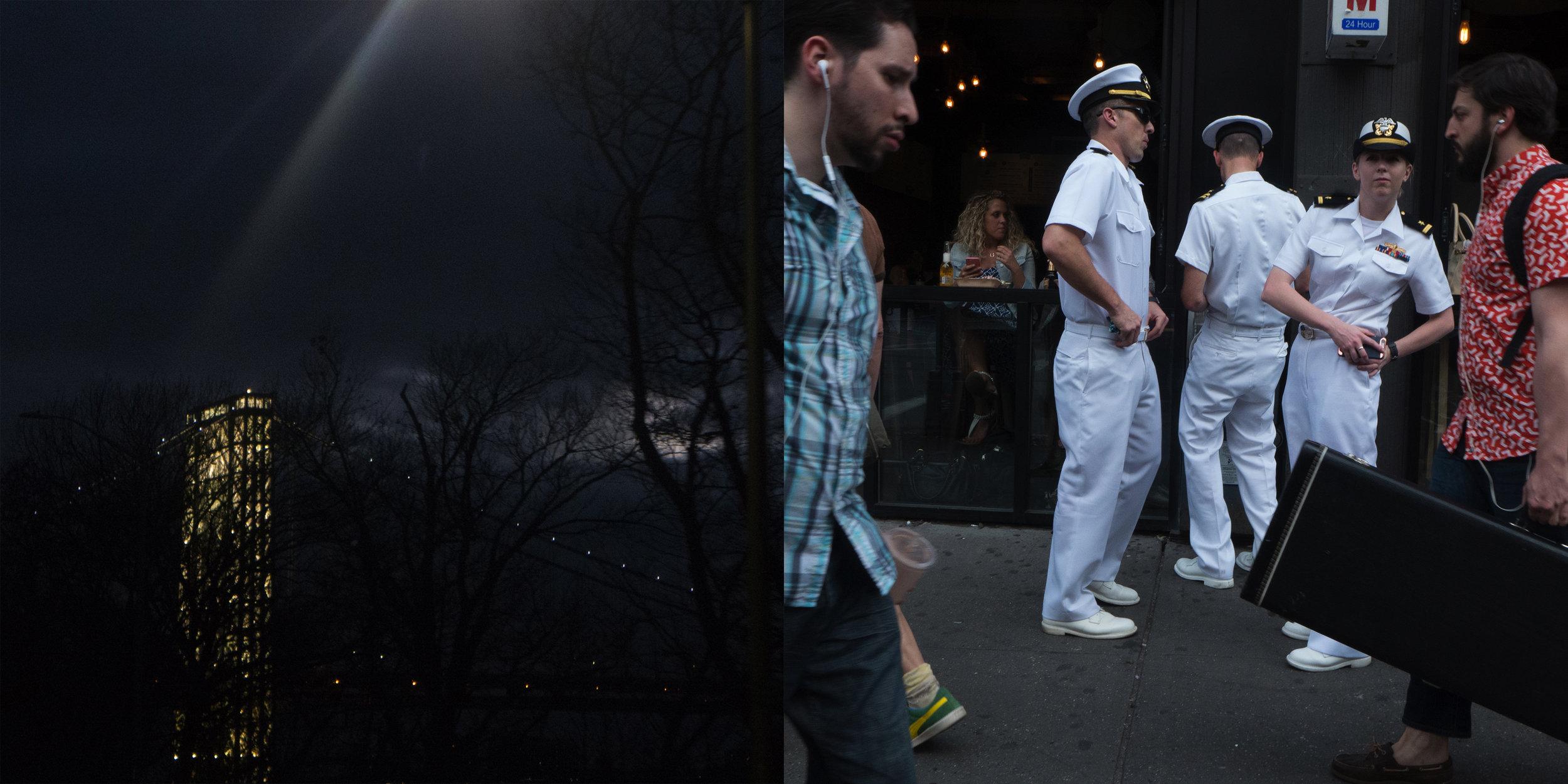 GWB at Night & Hey, Sailor Girl
