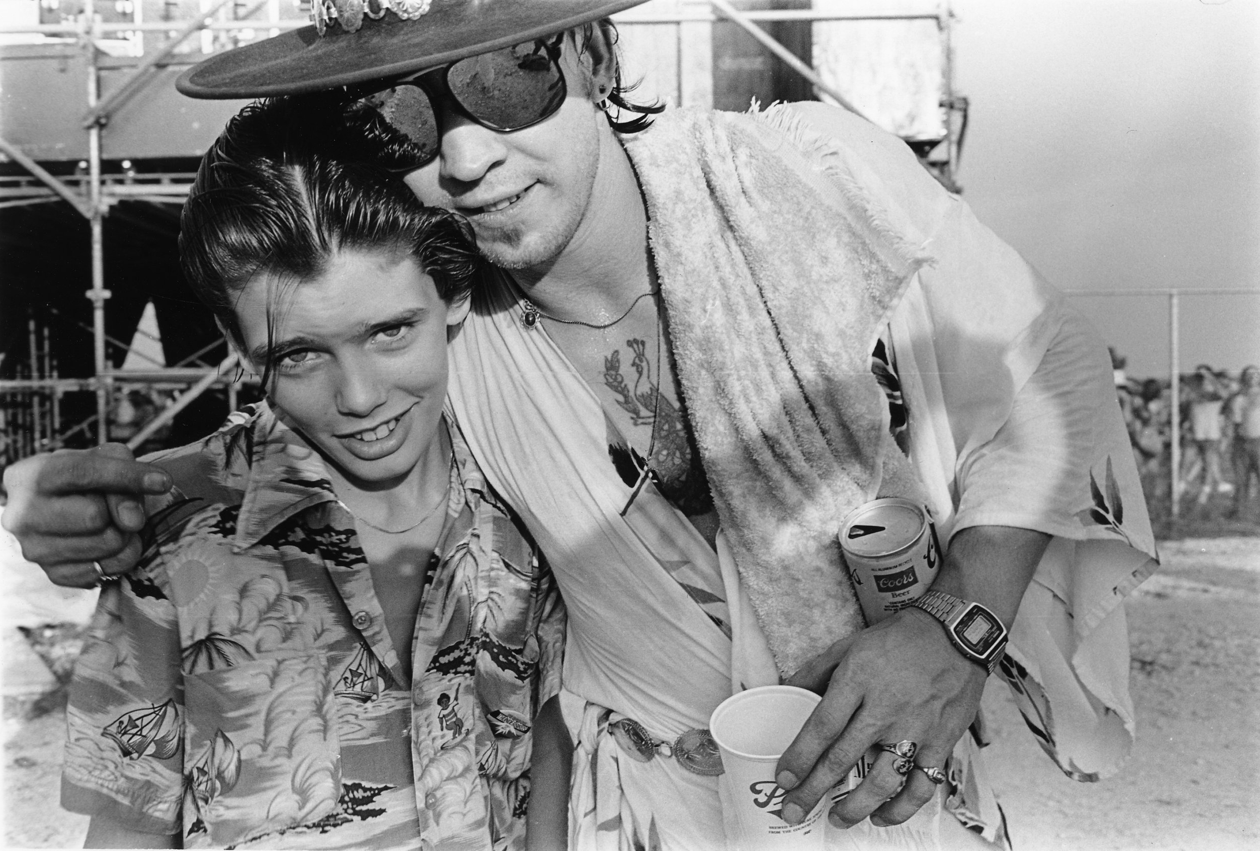 Little Charlie Sexton and Stevie Ray Vaughn