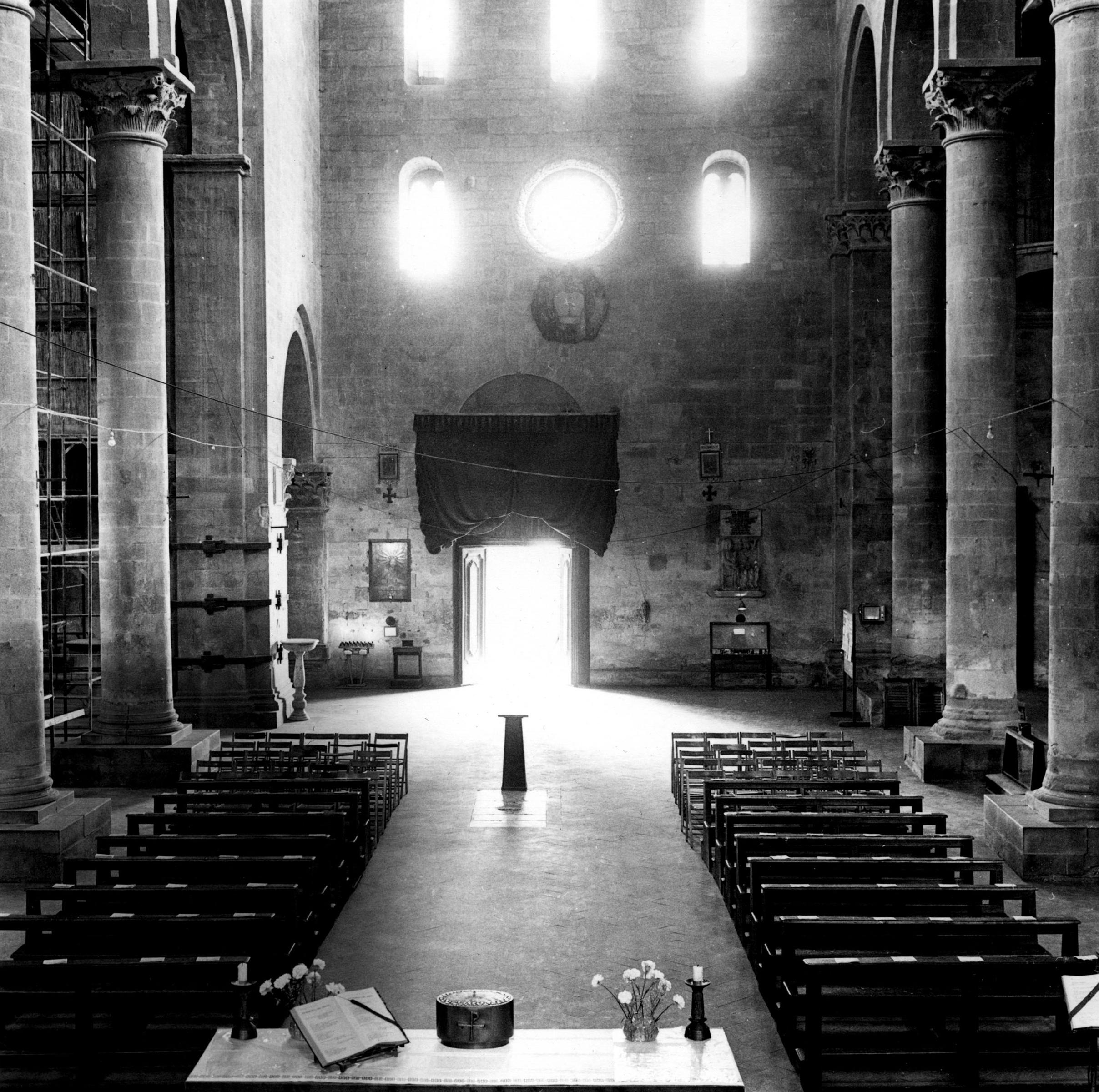Italy church from altar