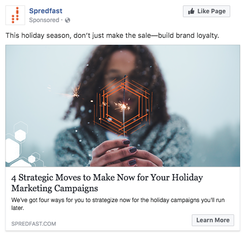 Spredfast social ad example.png