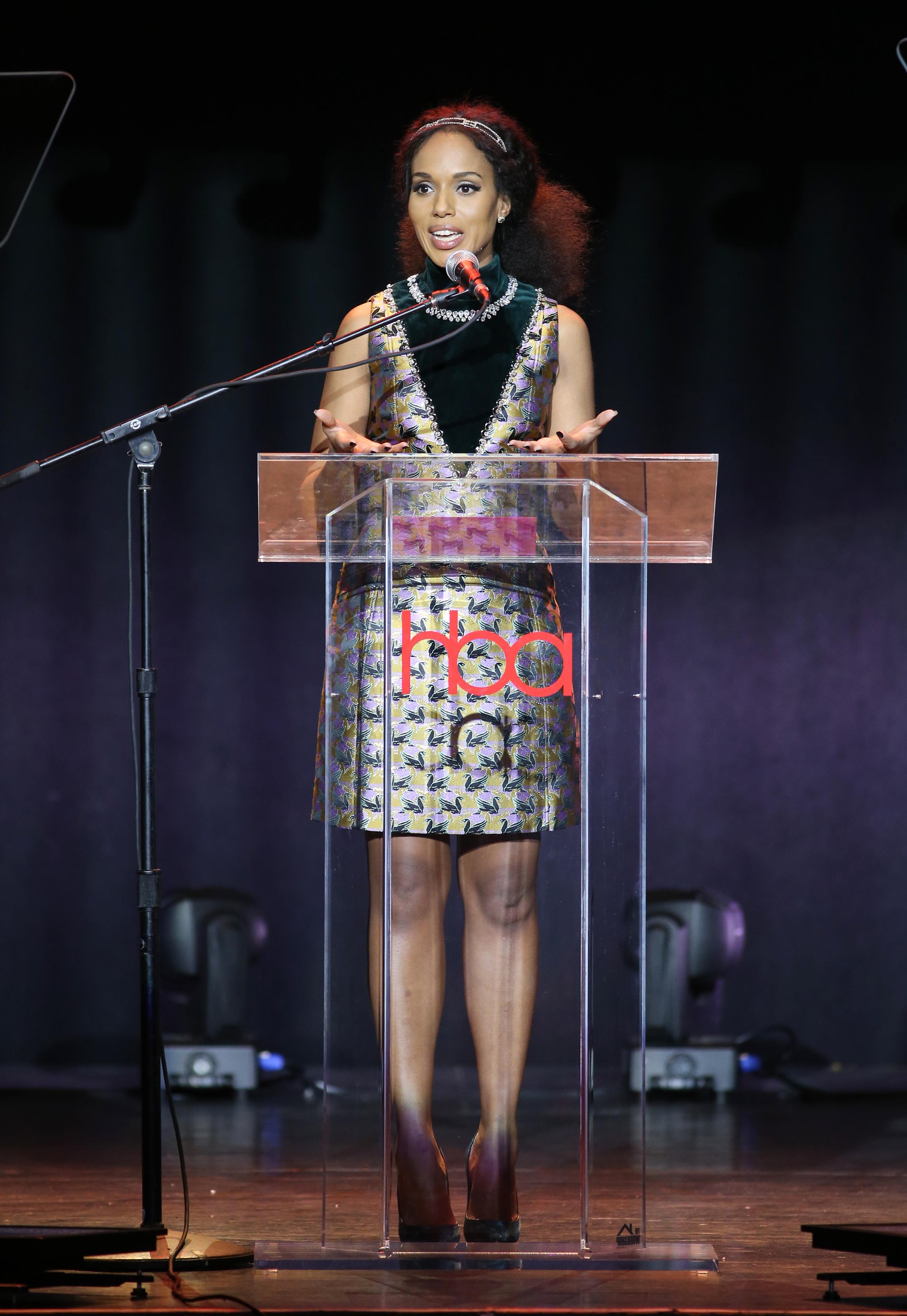 Kerry Washington | Feb 25, 2018, Hollywood Beauty Awards held at the Avalon