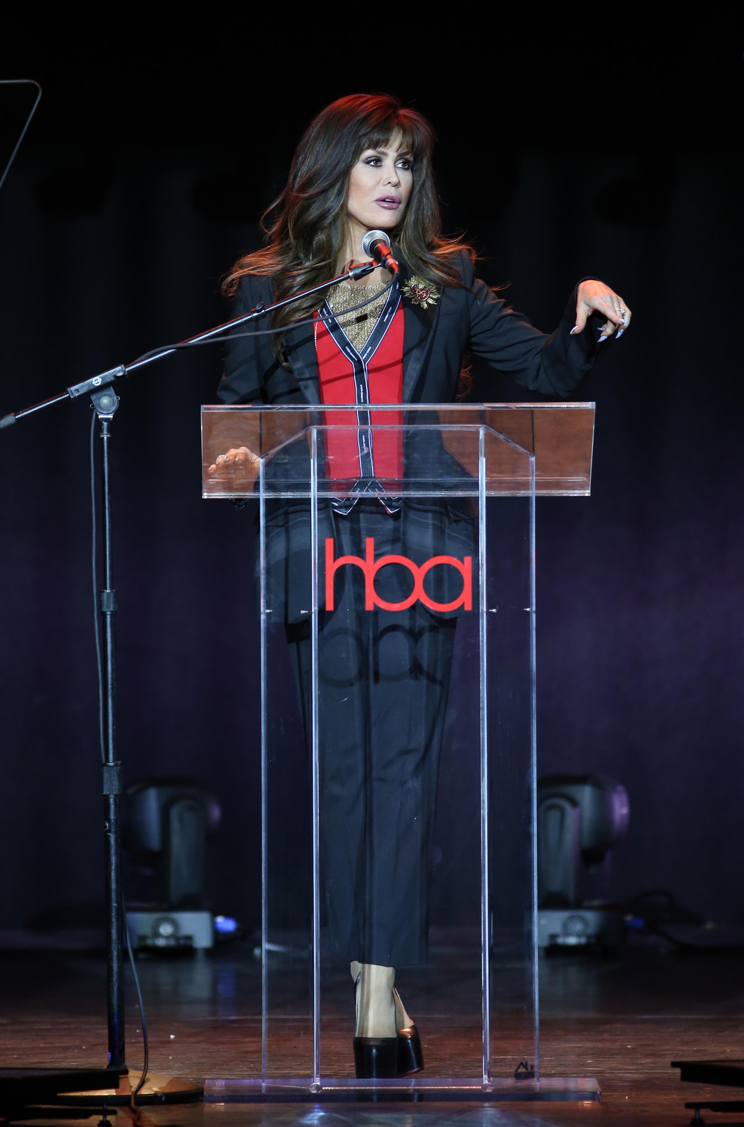 Marie Osmond | Feb 25, 2018, Hollywood Beauty Awards held at the Avalon