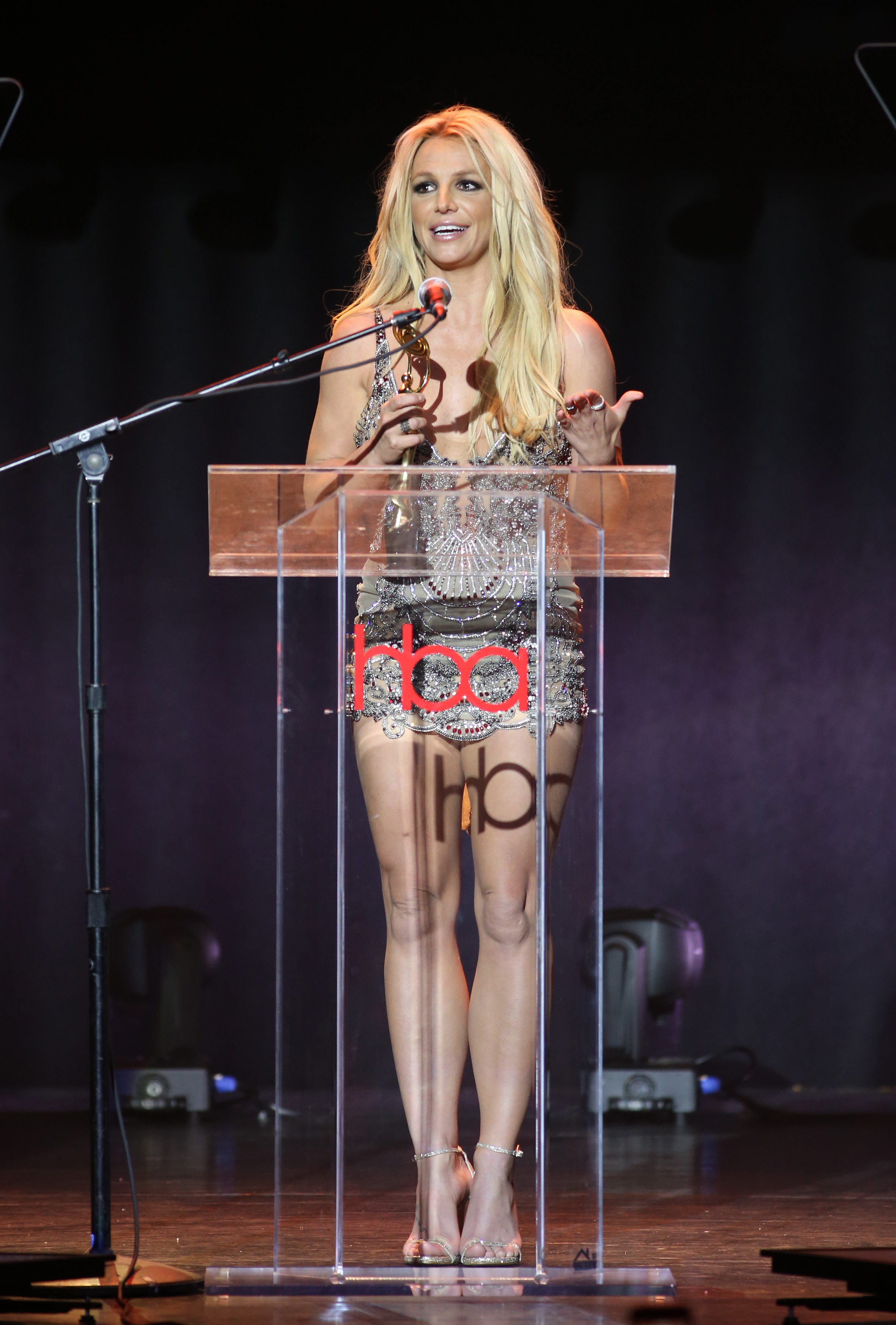 Britney Spears | Feb 25, 2018, Hollywood Beauty Awards held at the Avalon