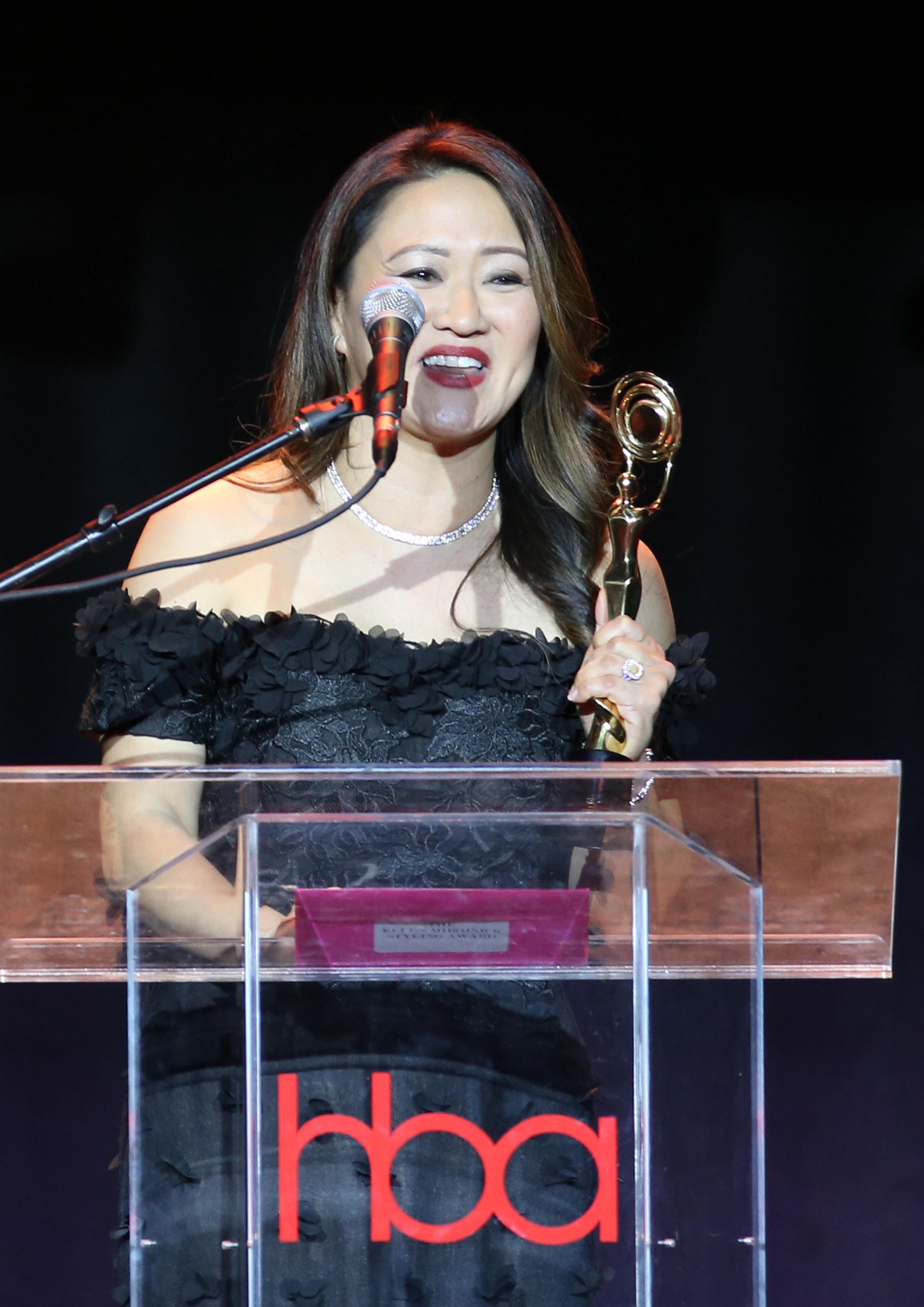 Desiree Nutley | Feb 25, 2018, Hollywood Beauty Awards held at the Avalon