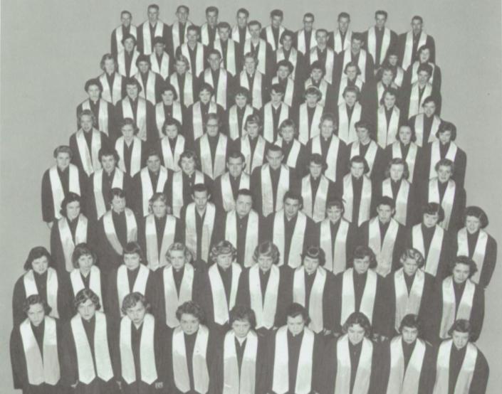 Edina-Morningside High School Senior Choir, 1959
