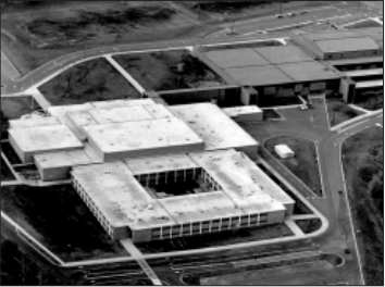 The newly-completed Edina-West Campus, 1972