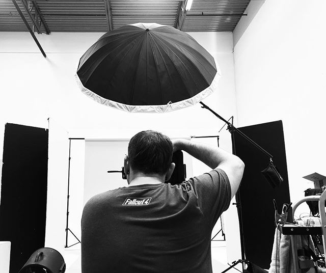 @gregdestefano shooting some exciting album work at the studio today! @dfla_studio by @svetjacque