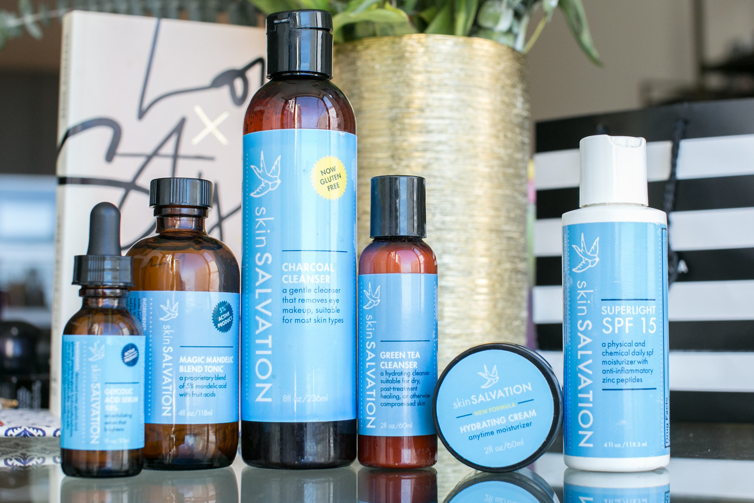 Skin Salvation products