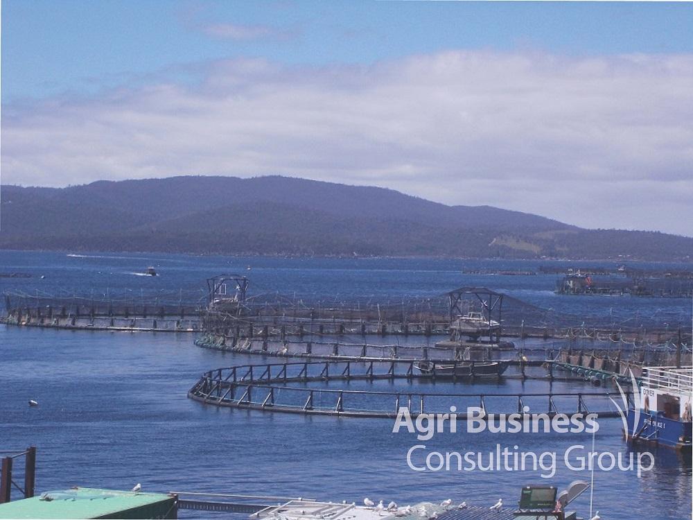 Fish farming infrastructure - Australia