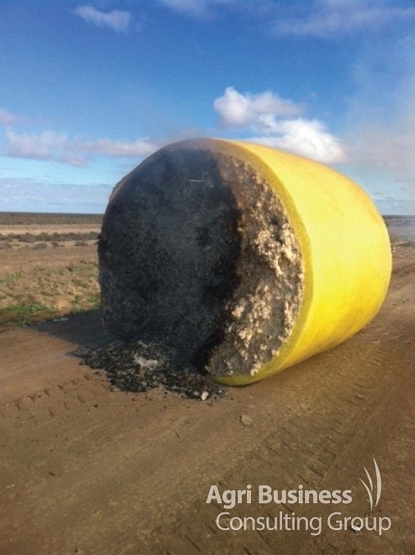 Cotton round bale fire claim.