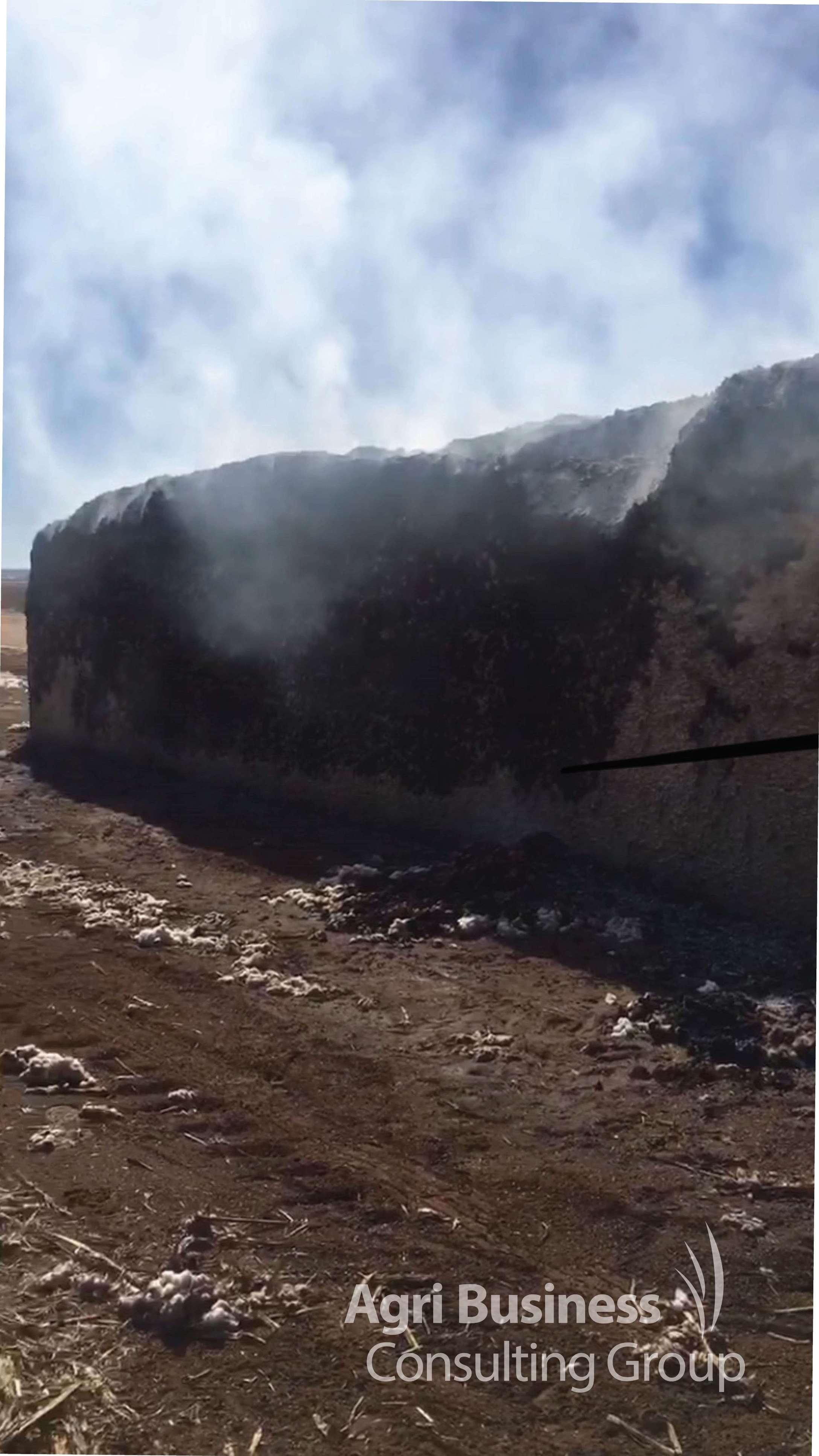 Cotton Module ignited from Cotton Picker Choke - Jondaryan, QLD