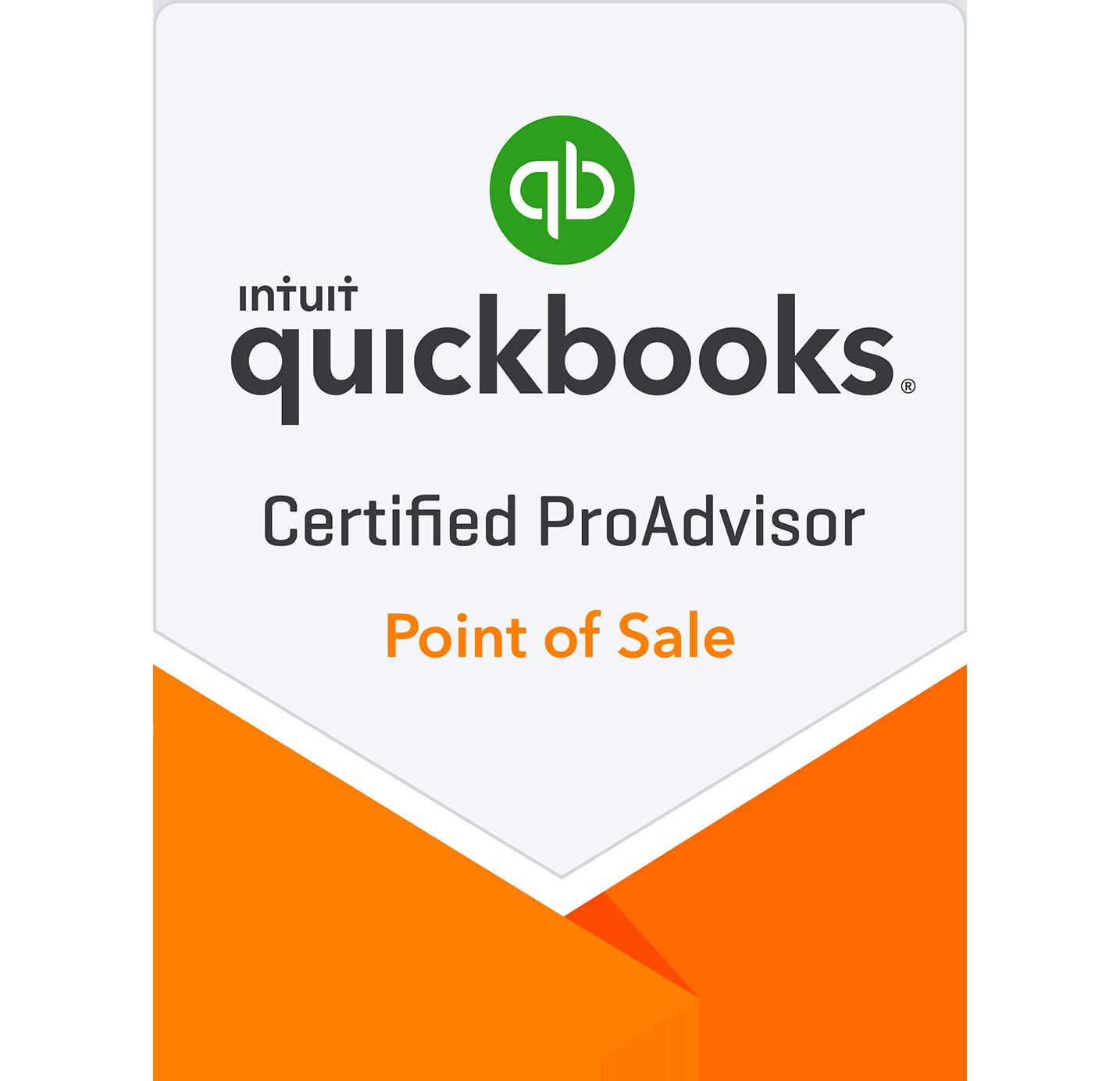 Point of Sale - Quickbooks Certified ProAdvisor