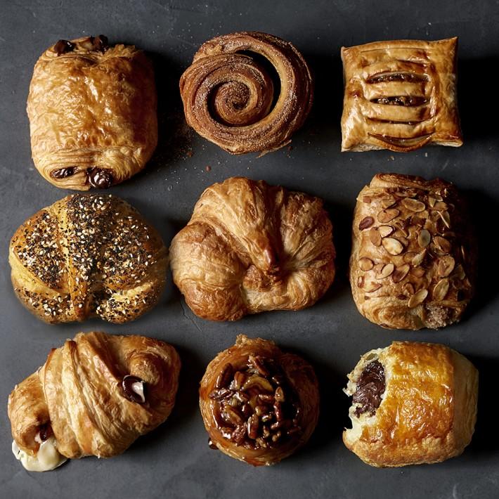 rolls & croissants -