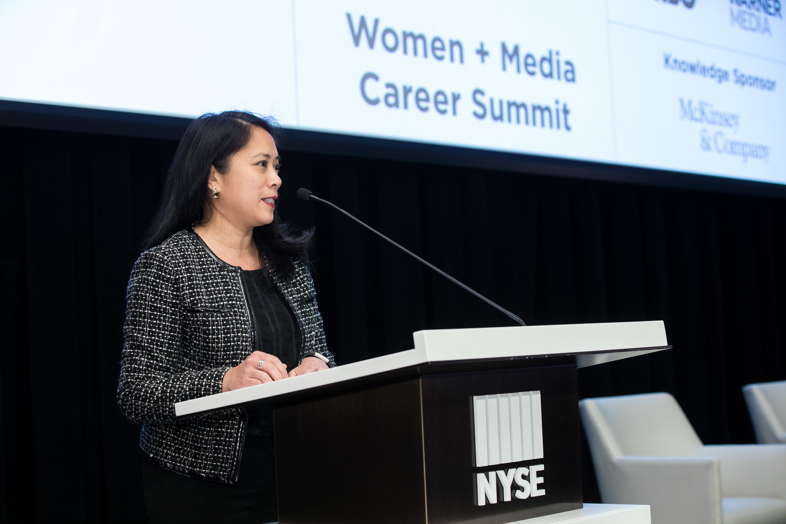 Women in Media Career Summit. Undergrad and grad students from tri-state are colleges and universities