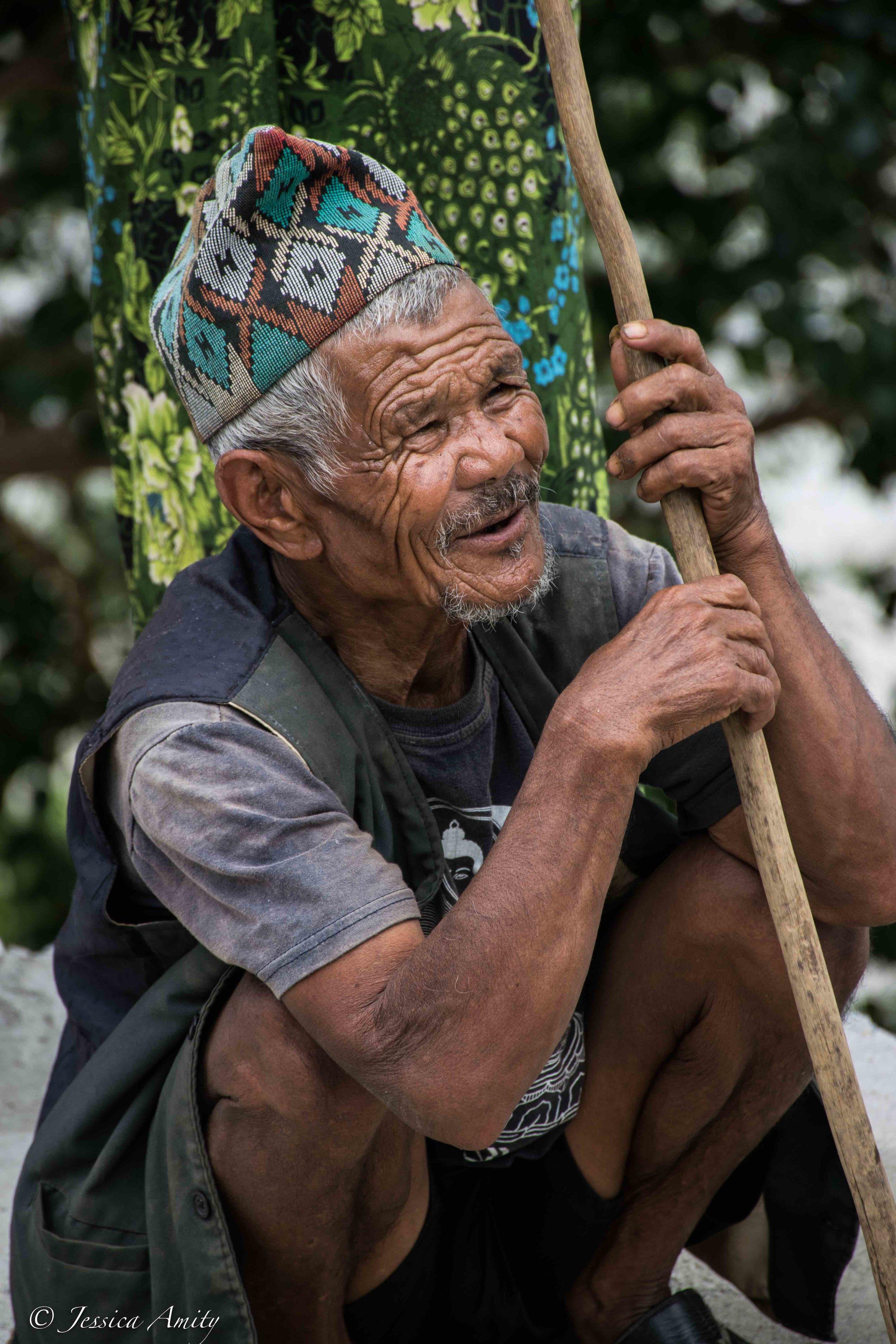 A Majhi man.