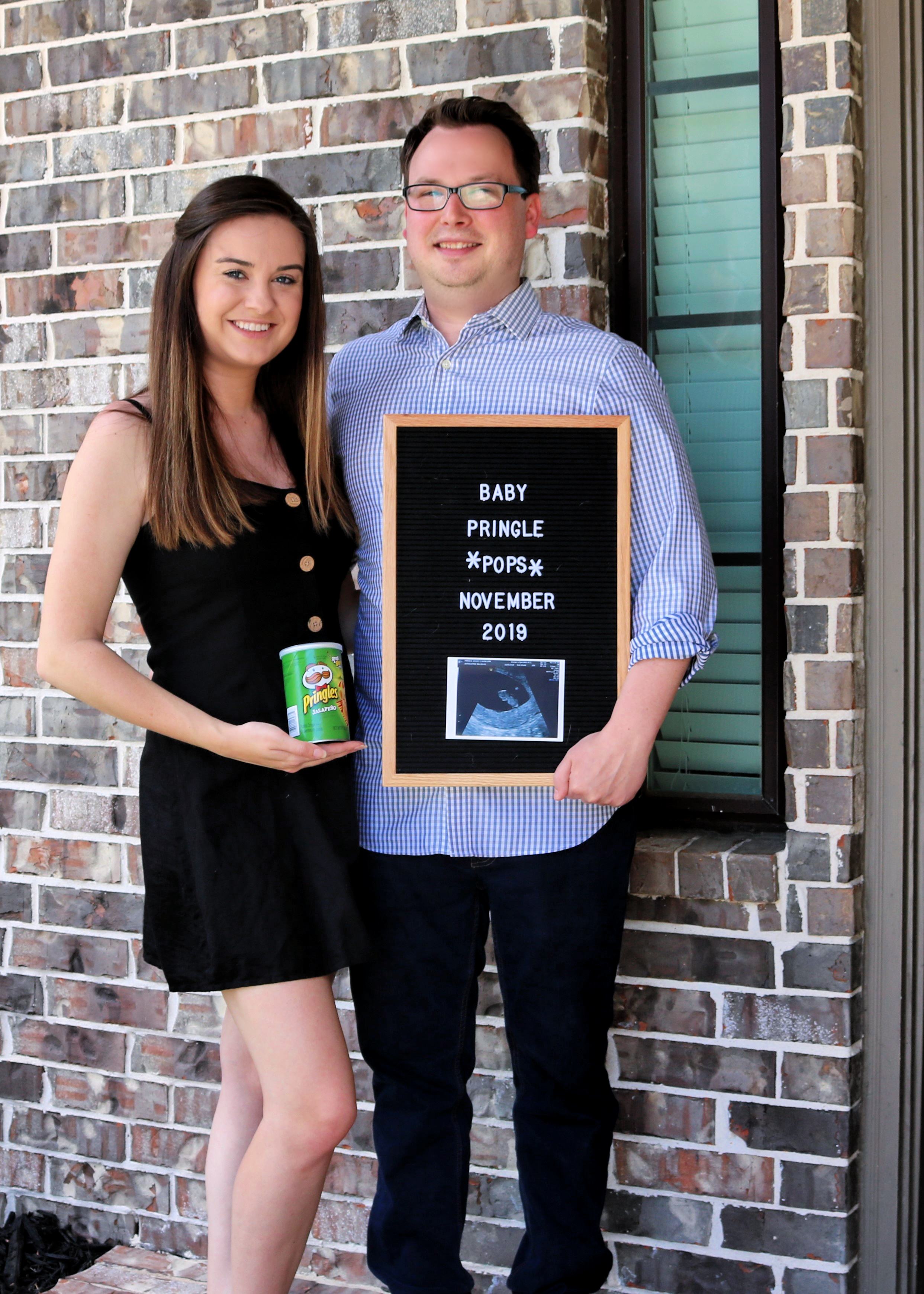 Baby Pringle Pregnancy Announcement