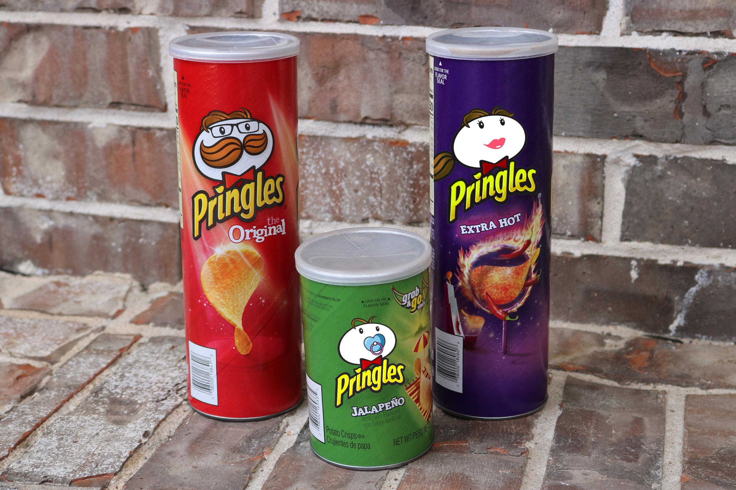 Baby Pringle Pregnancy Announcement Pringles
