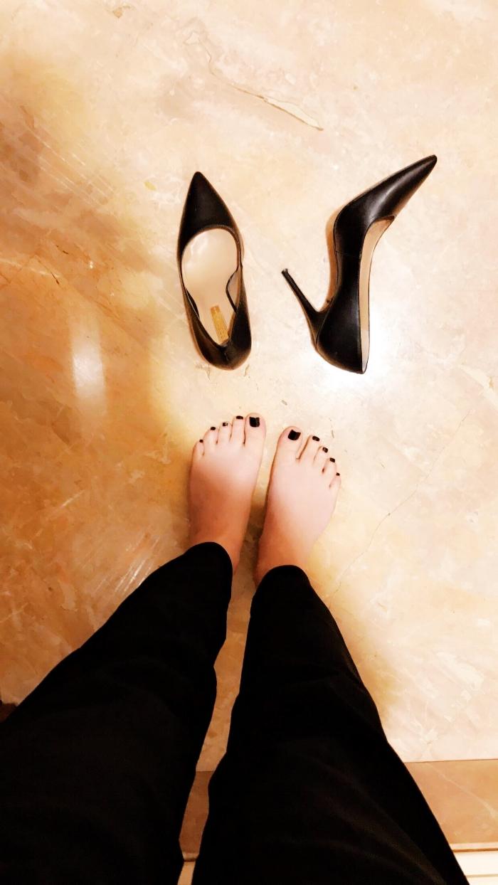 Heels - BCBG + Pants - Aritzia