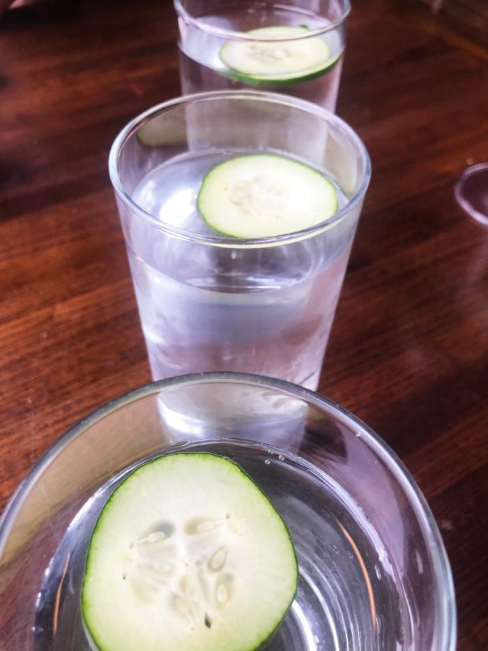 The refreshing AF cucumber H2O