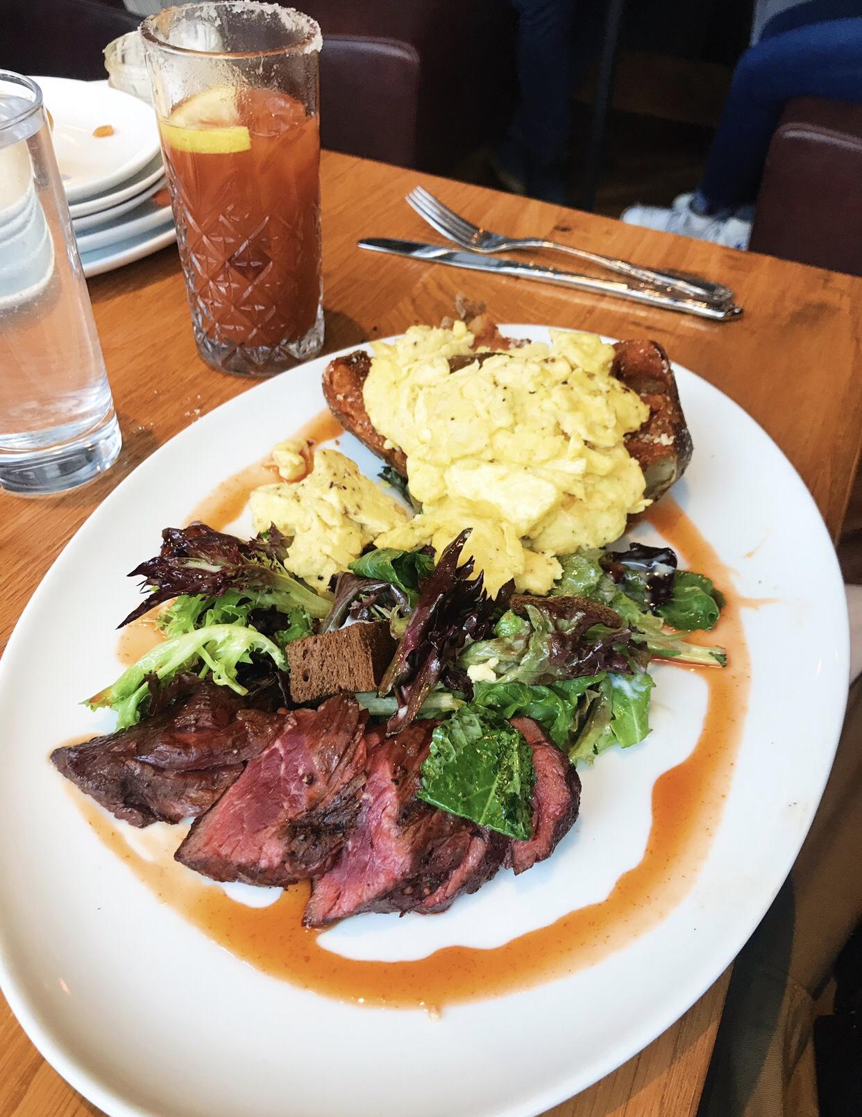 Carolina Steak & Eggs