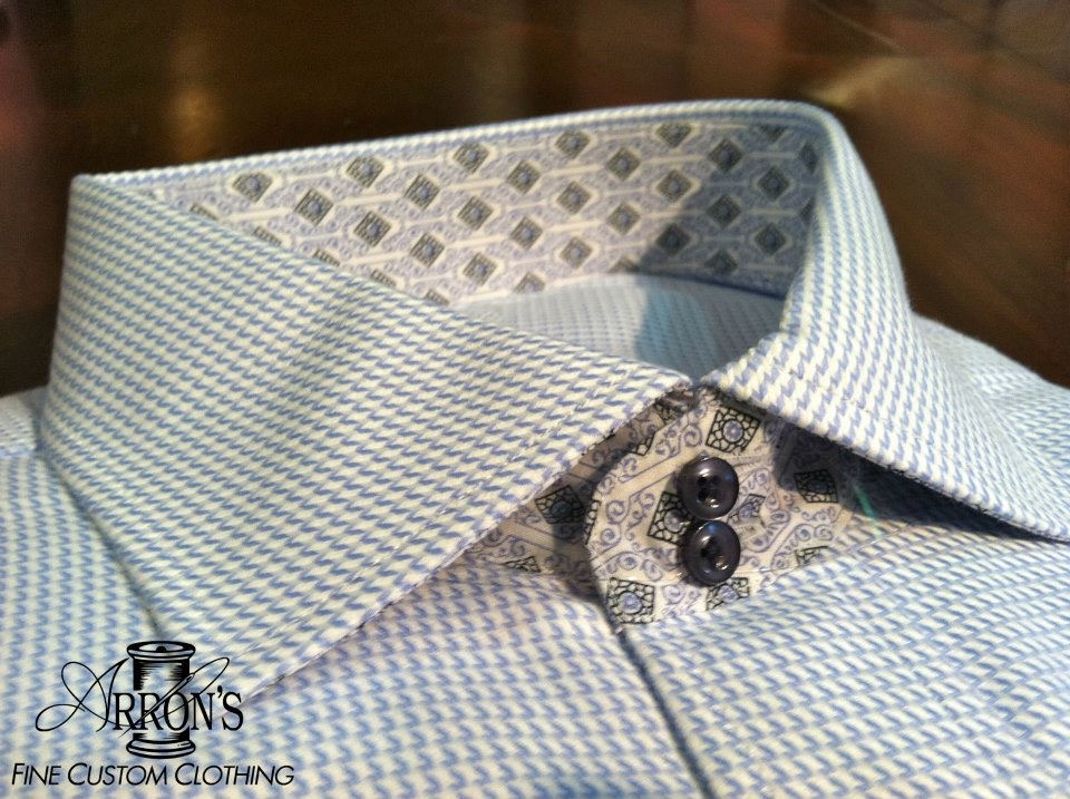 Shirting - The anchor of the outfit. A custom shirt will spoil you, you will never be able to go back to others.