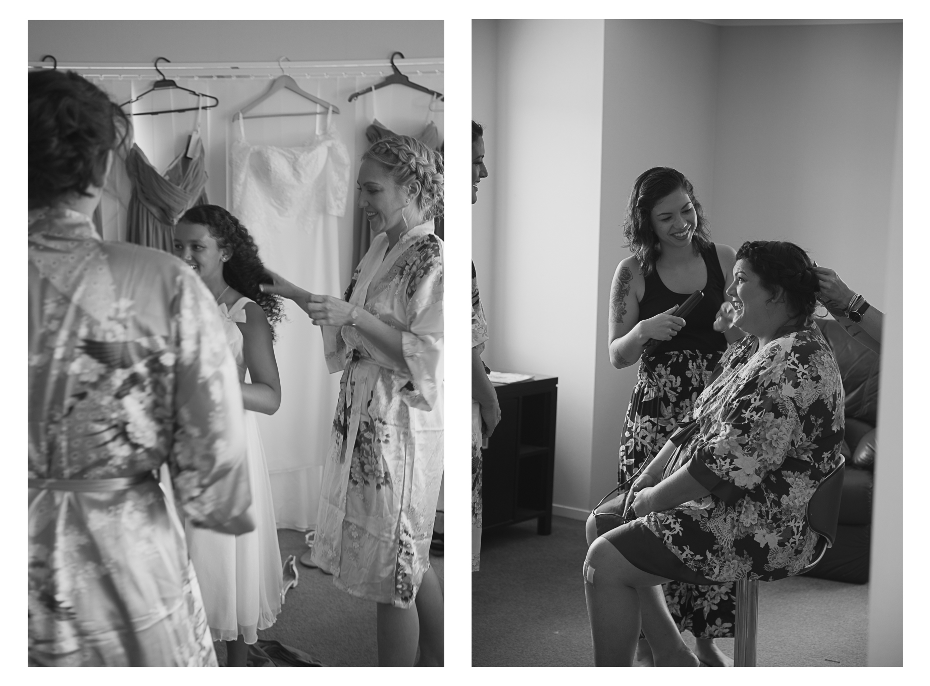 Brides wedding dress details