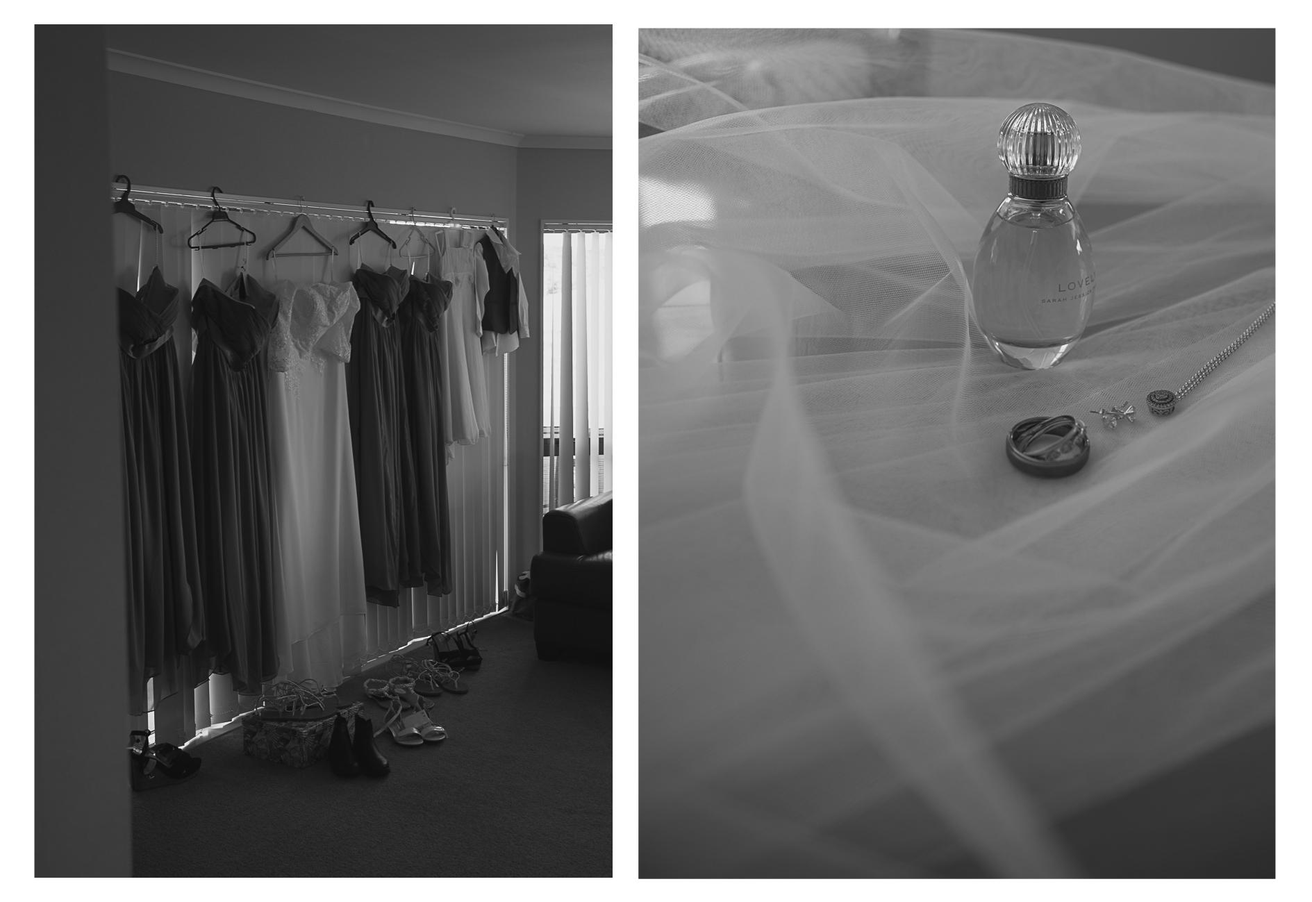 wedding dresses and details