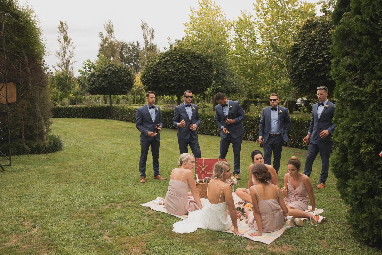 bridal party picnic