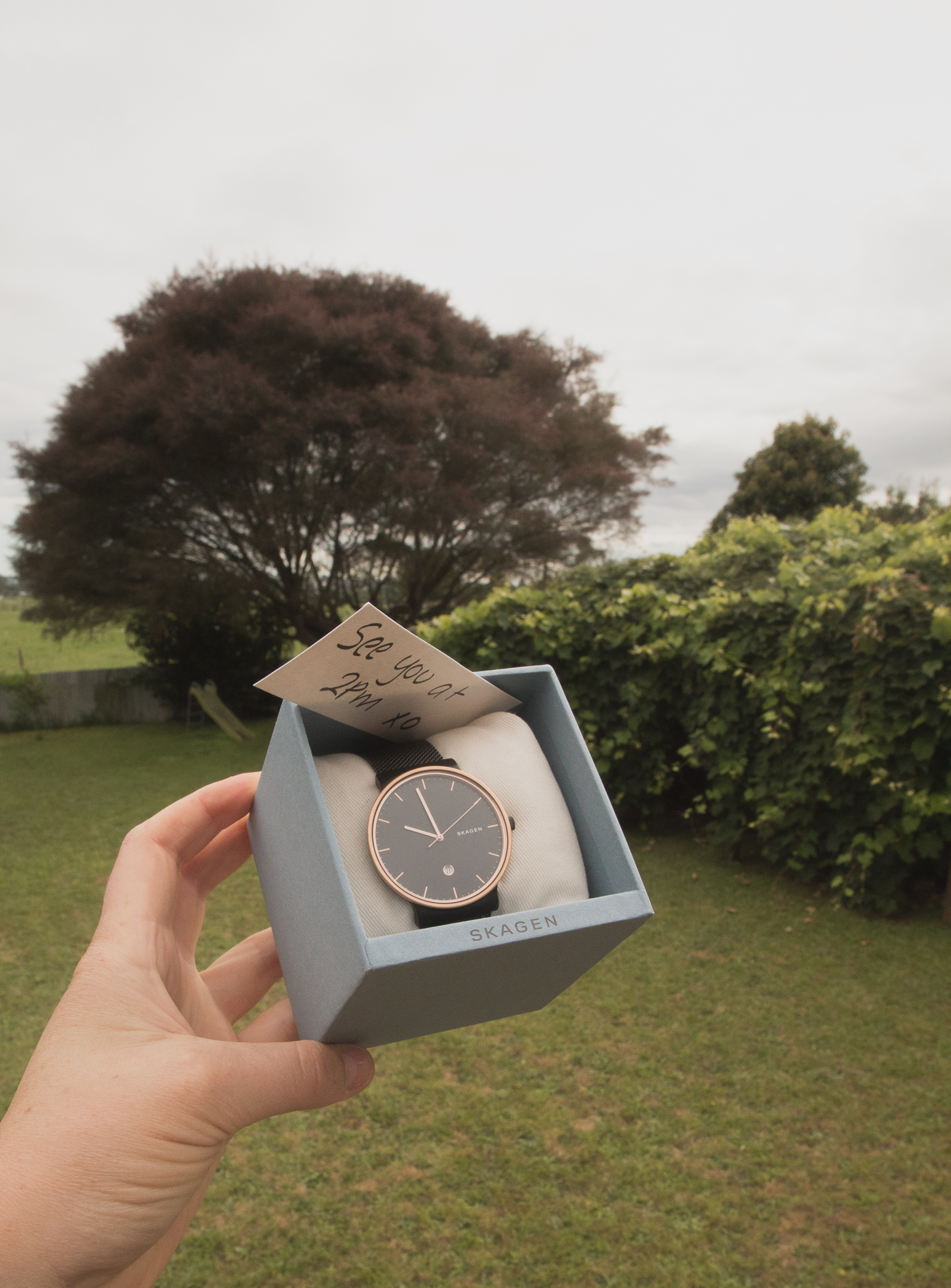 groom gift from bride on wedding day