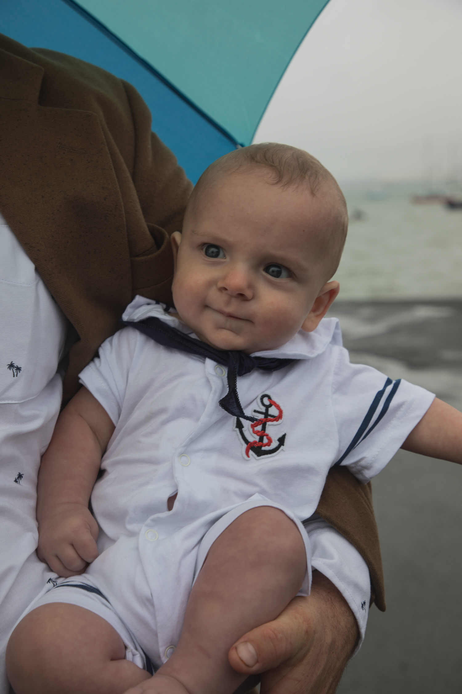 little man in his sailor outfit