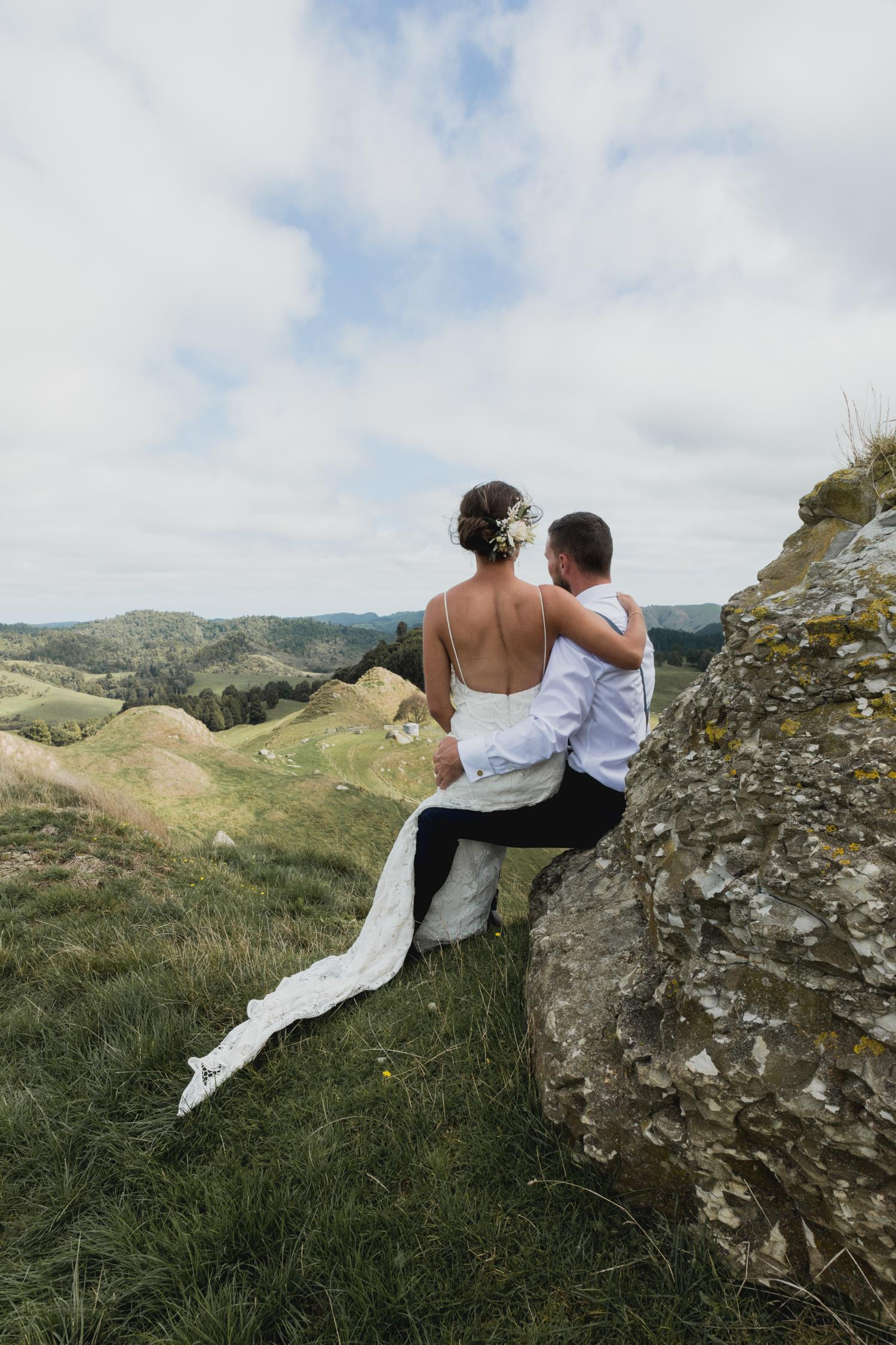 rural new zealand wedding