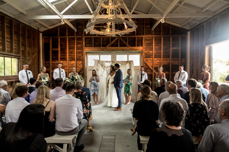 black barn winery hawkes bay wedding with pregnant bride