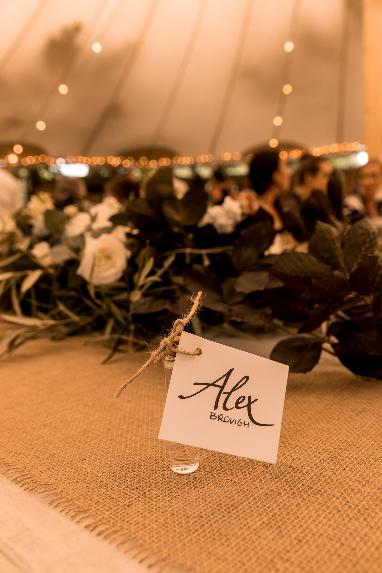 hawkes bay black barn wedding Flagship events tent