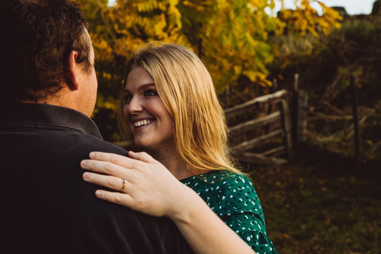 waikato wedding photographer autumn engagement shoot