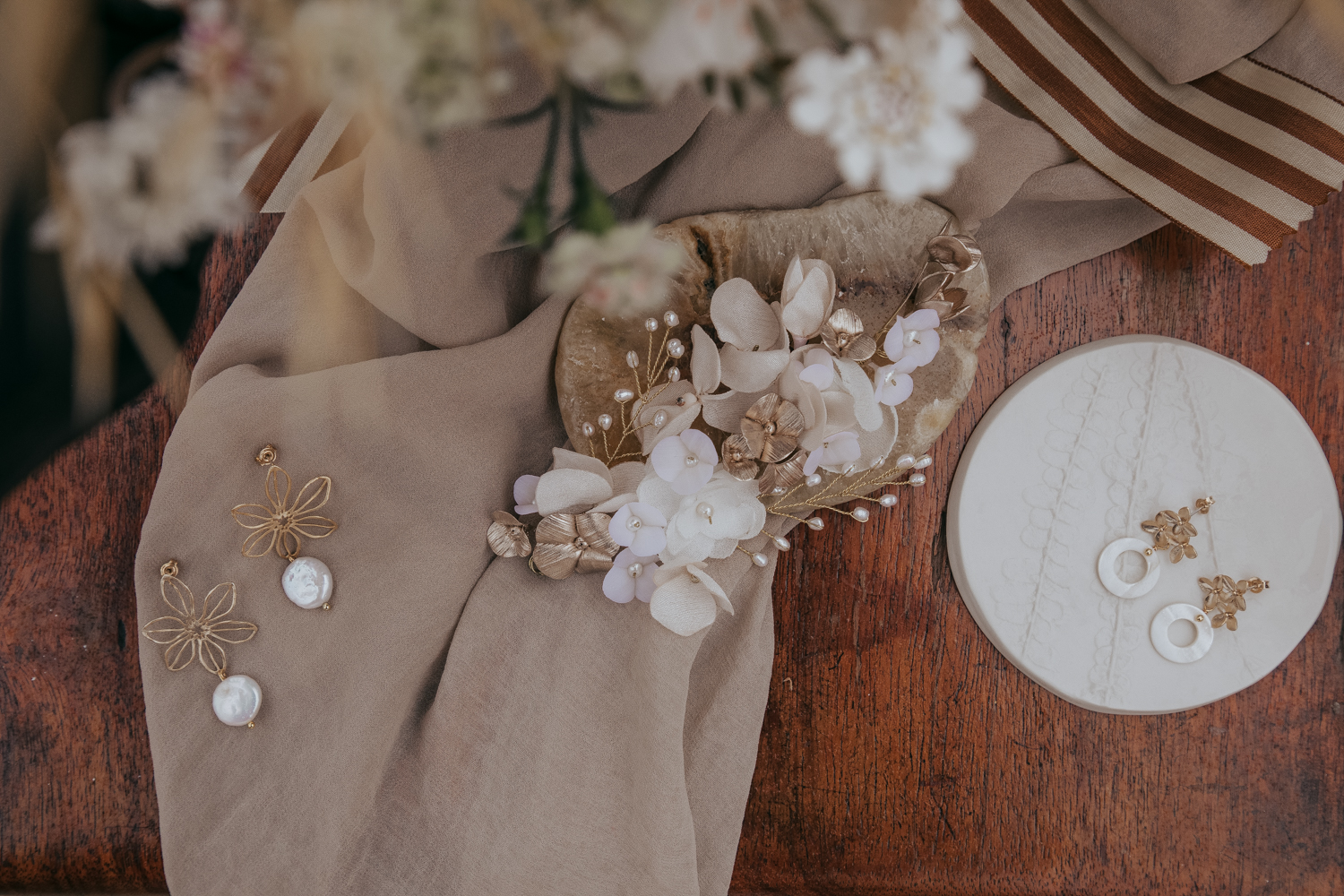 Portugal Europe editorial earth tone florals