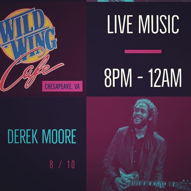 Chesapeake Tonight......run it.  @wildwingcafe  8-12am (Solo)  #strangerootz #wildwingcafe #chesapeake #livemusic #757livemusic