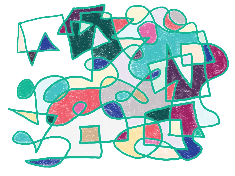 Loop drawing from my May drawing extravaganza.