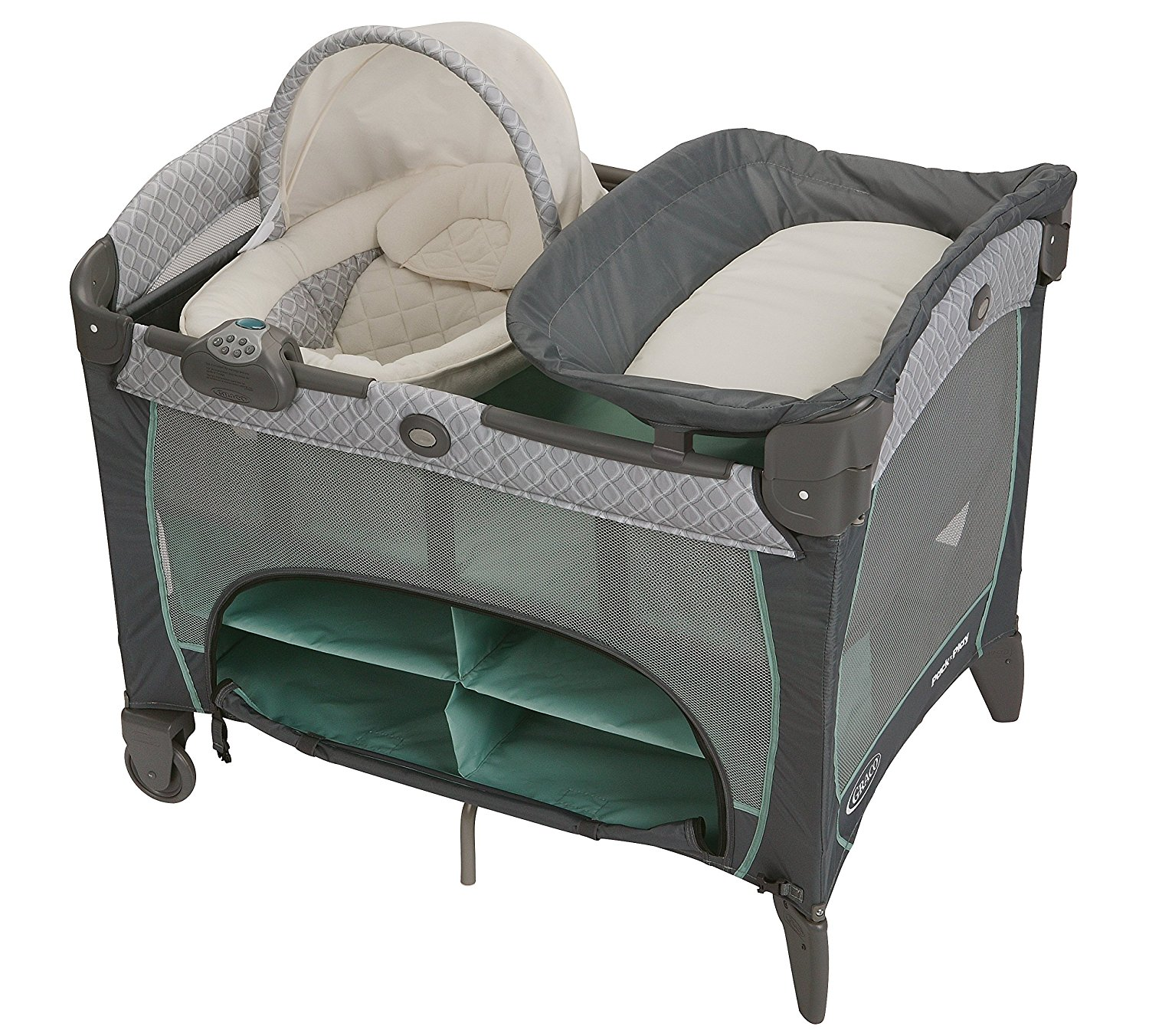 Pack 'n playard with newborn napper station - $135.65