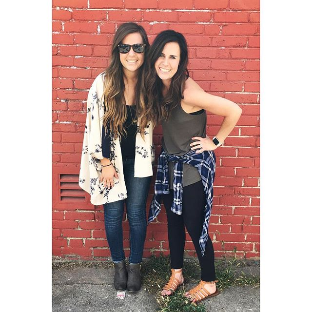 Happiest of birthdays to my most favorite enneagram 7 in the world! 😍 I hope more of your adventure-loving, fun-producing, creativity-infused, justice-fueled passion for life rubs off on me every year. On me, and my girls. Have so much fun today (or yesterday with time change)!!! 👯‍♀️❤️🎉2️⃣8️⃣