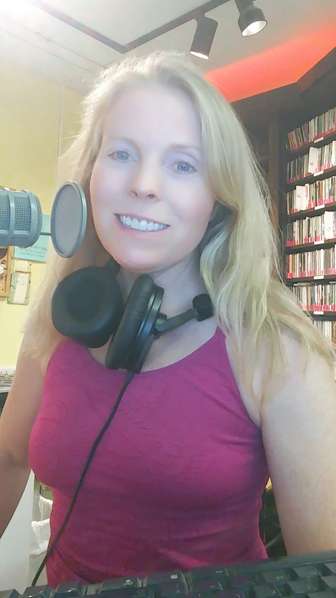Hosting Francosonic radio on WRIR 97.3 FM