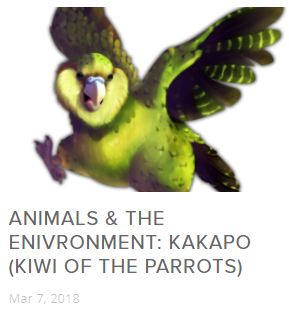 The Kakapo (Kiwi of the Parrots)