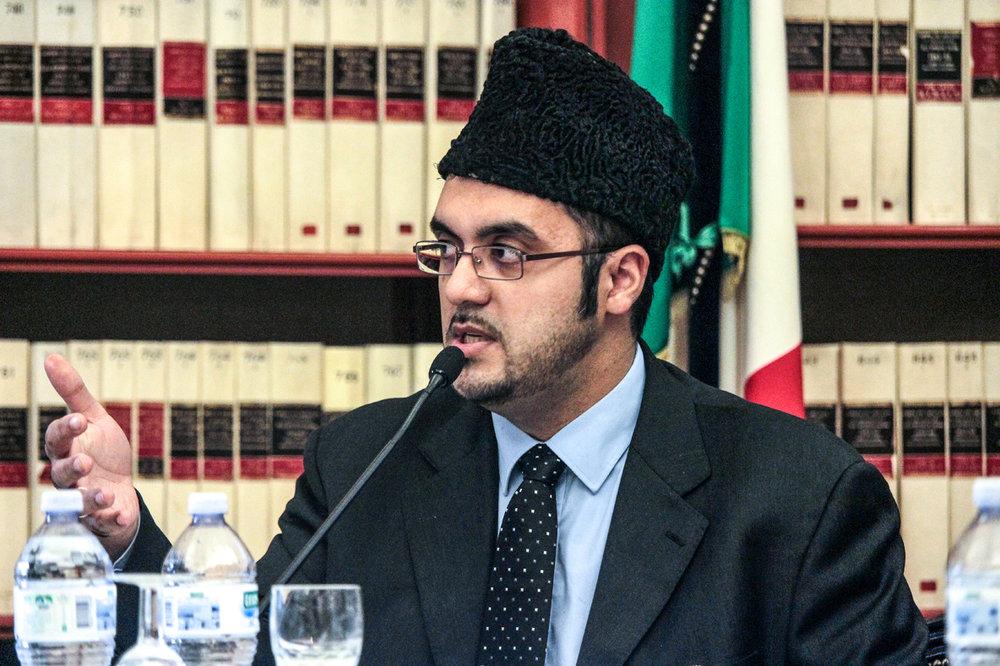 ATAUL WASIH TARIQ    Vice President and Imam at Ass. The Ahmadiyya Muslim Jama' at Italia