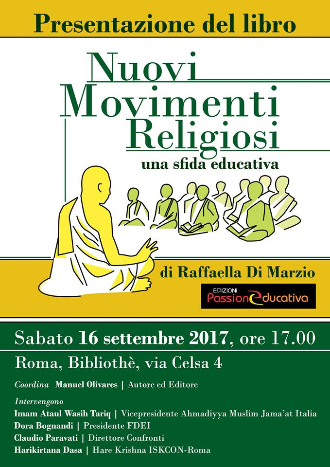 Nuovi Movimenti Religiosi. Una sfida educativa