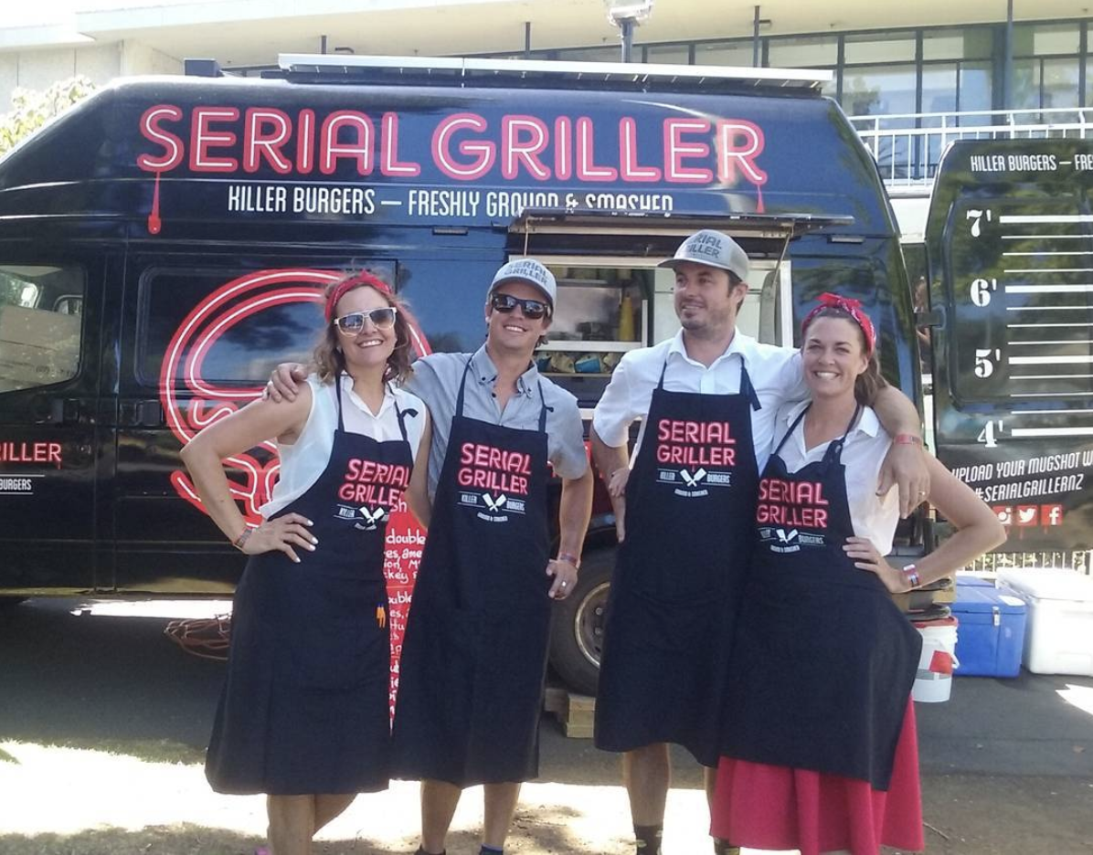 - The Serial Griller team!