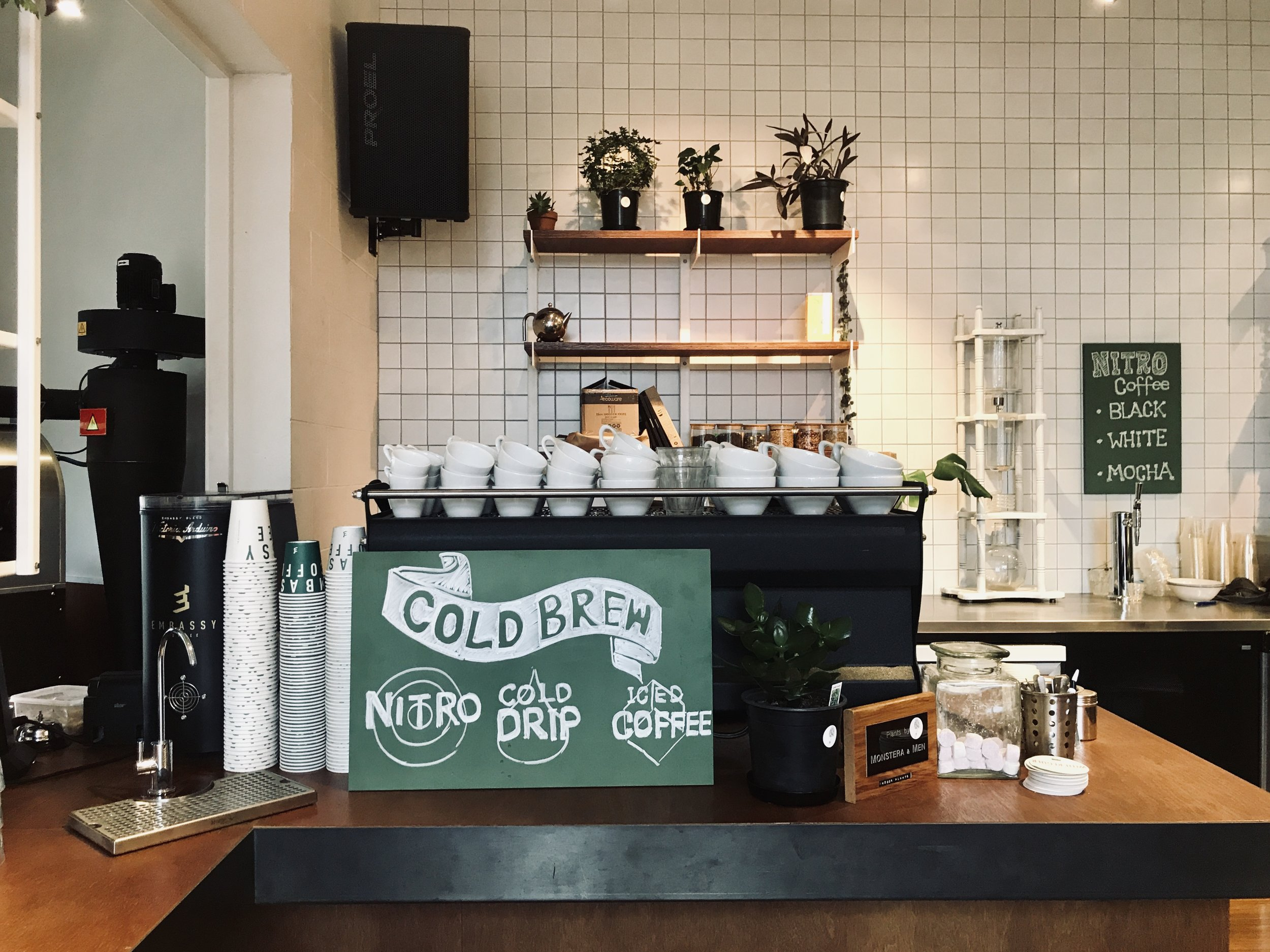 Embassy Coffee Espresso Station