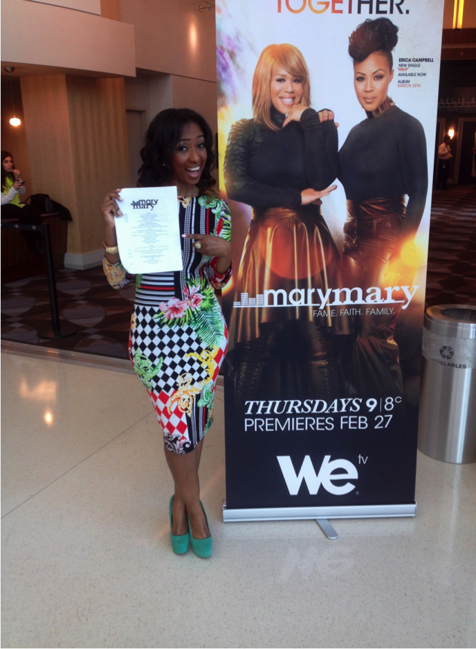 Moderated the press conference for WEtv's Season 3 of 'Mary Mary'.